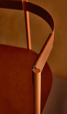 Offset is a minimalist chair designed by Copenhagen-based designers Johansen Faurschou