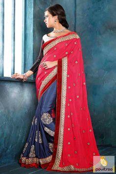 Prestigious Pink Georgette Embroidery Wedding Saree Call : +91 7698234040 (what's app) Mail : info@pavitraa.in #weddingsarees, #sarees, #sareesshopping, #designersarees, #georgettesarees, #partywearsaree, #buysareesonline, #bridalsarees, #buyweddingsarees, #onlinesarees, #onlineshopping, #onlinesareesshopping, #pavitraa, #pavitraafashion, #pavitraafashiononline