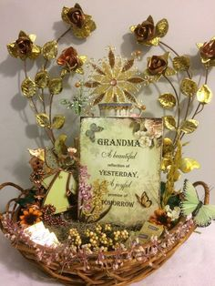 40 ebay sale handmade easter gift basket for her handmade all 50 ebay handmade vintage beautiful grandma mothers day gift basket decoration free card negle Images