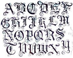 Tattoo Lettering | tattoo lettering styles | My Wallpaper Blog