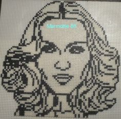 Madonna hama  beads by marmorette88130