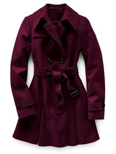 Plum Coat Fashion and Style