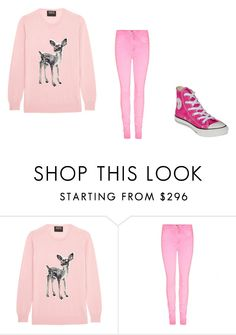"""""""Pink winter"""" by jordanbond55 ❤ liked on Polyvore featuring beauty, Markus Lupfer and Converse"""