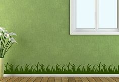 Grass Wall Decal - Lovely Decoration for Walls