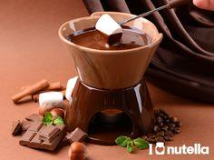 Zoek de warmte op en geniet, met bijvoorbeeld een heerlijke chocolade-nutella-fondue!
