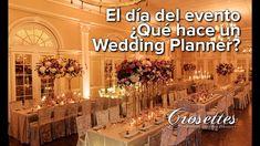 El día del evento ¿Qué hace un wedding planner?
