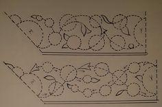 Yazı kenarı çizim şemaları
