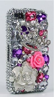 blinged out phone case