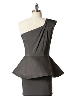 Poetic Peplum Dress - Tailor and Stylist Special Occasion Dresses, Stylists, My Style, Peplum Dresses, Blouse, How To Wear, Clothes, Collection, Tops