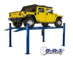 BendPak Four Post Car Lift lb. Garage Lift, Garage Tools, Garage House, 4 Post Car Lift, Four Post Lift, Lifted Cars, Car Shop, Floor Space, Cool Tools