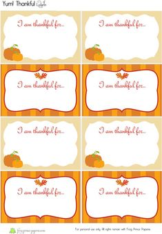 Thankful for YOU! {Free Printable} on http://frogprincepaperie.com