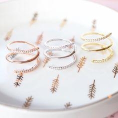 Majolie  - Spirale Silver Ring -   - 1