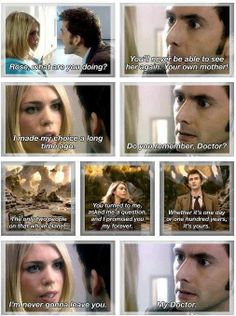 Doctor Who. I was so sad when she left. :,(