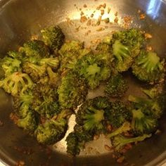 I've been looking for this simple recipe for a long time - Lemon and Garlic Broccoli