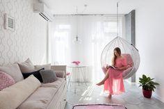 Fiatal lány első lakása - 43m2-es kétszobás lakás berendezése egyszerűen praktikusan