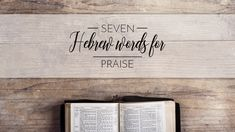 """Wrote a new article for Sharefaith """"The 7 Hebrew Words of Praise in The Bible"""" https://www.sharefaith.com/blog/2017/10/hebrew-words-for-praise/?utm_content=bufferfe03c&utm_medium=social&utm_source=pinterest.com&utm_campaign=buffer #worship #psalms"""