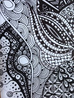scribble - zentangle - doodling