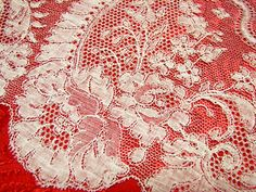 Vintage Embroidery Lace Trim by 1 Yard, Off White, - Embroidery Design Guide Types Of Embroidery, Vintage Embroidery, Embroidery Designs, Antique Lace, Vintage Lace, Types Of Lace, Lacemaking, Embroidery Transfers, Lost Art