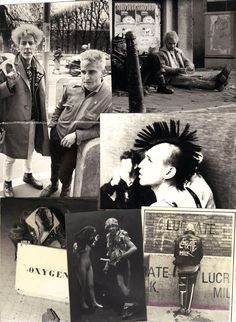 fotografías inéditas de los punks parisinos de los 80   look   i-D