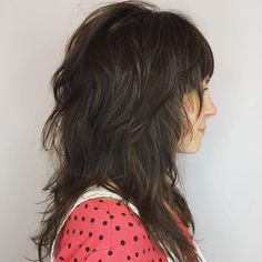 Long Tousled Layered Hairstyle