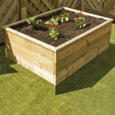 Avon 5' x 3' Triple Board Standard Raised Bed - http://www.sheds.co.uk/avon-5-x-3-triple-board-standard-raised-bed.html