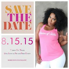 Save the date for our 2nd Annual Sip & Shop - Popup Shop Event on *8.15.15* @ Baco Dumbo in Brooklyn, NY!  Free Entry, Music, Giveaways and much more!  Stay Tuned!  Follow us on Instagram and Twitter @visionofsoles and visit our website for your vosfix www.visionofsoles.com