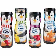 Gerber Puff snacks, love the penguins!