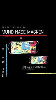 UNDIS(@undis.eu) on TikTok: www.undis.eu MUND-NASE-MASKEN #neu #lustig #handmade #schweiz🇨🇭 #style #mundnasenmaske #familie #kinder #witzig #undis Movie Posters, Switzerland, Masks, Kids, Film Poster, Billboard, Film Posters