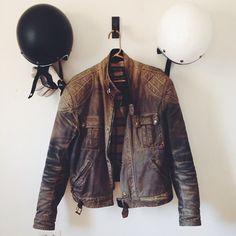 Vintage Motorcycle Jacket