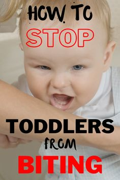 Toddler biting is very common and normal in early childhood. Babies and toddlers bite for a variety of reasons. Find out why they bite and how to stop them in the article. Toddler Biting, Bad Kids, Positive Discipline, Frugal Tips, One Life, Life Skills, Early Childhood, Parenting Hacks, Little Ones