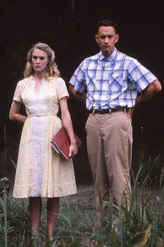 Tom Hanks and Robin Wright Forrest Gump Kostüm, Tom Hanks Forrest Gump, Forrest Gump Quotes, Funny Couple Halloween Costumes, Hallowen Costume, Costume Ideas, Robin Wright, Liam Neeson, Movie Couples