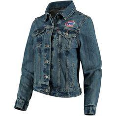 Chicago Cubs Levi's Women's Trucker Jacket - Denim #Cubs #MLB