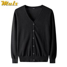 83c2a884a2f 2017 Autumn New Men Cardigan Sweater Cotton Knited Sweater Men Spring Male  Cardigans Dark Gray Muls Brand Fit