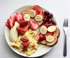 healthy breakfast. wanting this for dinner!!!