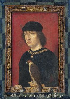 Engelbrecht-II count of Nassau (1451-1504) by Master of the Portraits of Princes, 1487. Oil on panel, 33.5 cm x 24 cm. Image courtesy of Rijksmuseum Amsterdam.