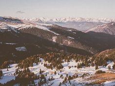 # Mountains Valley Snow