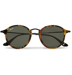 df195651a2446 Ray-Ban - Round-Frame Tortoiseshell Acetate Sunglasses   MR PORTER Mens  Sunglasses,