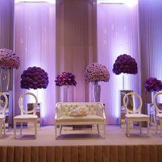 #Wedding #Stunning #Display #Drapery #Lighting #Floral #Decoration #WeddingProps #FreshFlowers #All #Done #By #Hostess #International