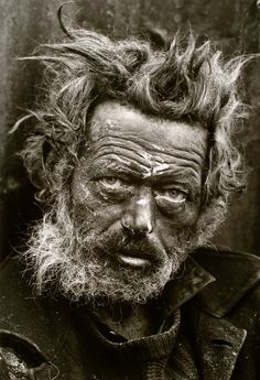 Irish Vagrant, east end London (1968) by Don McCullin