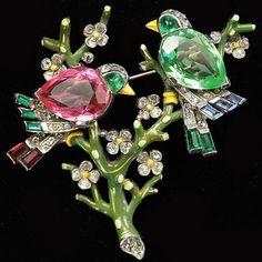 Trifari 'Alfred Phil beauty bling jewelry fashion