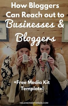 How Bloggers Can Reach out to Businesses and Bloggers + FREE Media Kit Template! Learn how to collaborate with other bloggers and partner with businesses.