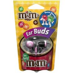 Pink M's® Earbuds  Maxell 190551  PRICE DROP!