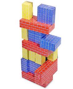 Melissa and Doug Toy, Deluxe Jumbo Cardboard Blocks - Kids Toys & Games - Macy's