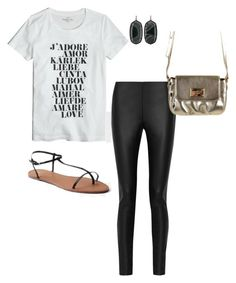 Concert by brittru84 on Polyvore featuring polyvore, fashion, style, J.Crew, M Missoni, Gap, Kendra Scott, Michael Kors and clothing