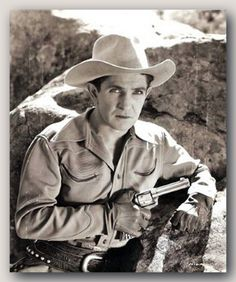 Bob Steele - [1907-1988] His main career  progressed in 1927, when he was hired by  FBO to star in a series of Westerns. He soon made a name for himself, and in the late 1920s, 1930s and  1940s starred in B-Westerns for almost every minor film studio. Steele also did a lot of television work, culminating as a regular in a  supporting role in the ABC army comedy F Troop (1965–1967).