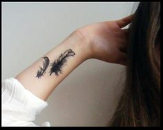 Bird feather tattoo temporary etsy