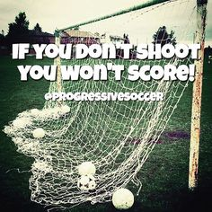 Stop passing up shots because you are afraid you might miss or you are afraid of what someone else will think. If you know it's time to take the shot focus on your technique and just do it. You will never regret trying and failing because you will learn from it and gain experience. But you will always regret being too afraid to try.