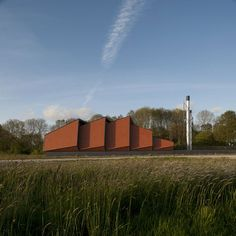 Architectural photographerGerard van Beek shares his photographs of a heating plant in the Netherlands by Dutch architects Bonnema.