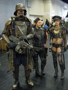 Post Apocalyptic Clothing, Post Apocalyptic Costume, Post Apocalyptic Fashion, Mad Max, Fallout, Warhammer 40k Memes, Wasteland Weekend, Burning Man Outfits, Samurai