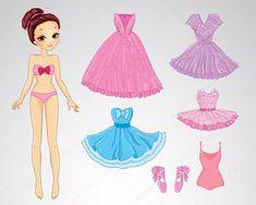 depositphotos_94992068-stock-illustration-paper-christmas-brunette-doll.jpg (1024×819)
